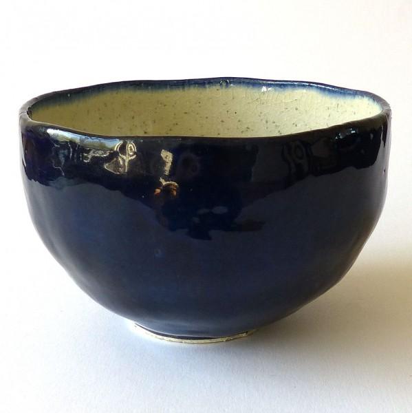 Schale Blue Craquelé (548)